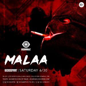 Malaa at Bassmnt - June 30, 2018