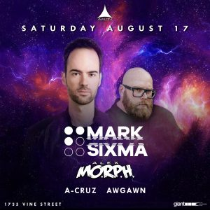 Mark Sixma at Avalon - August 17
