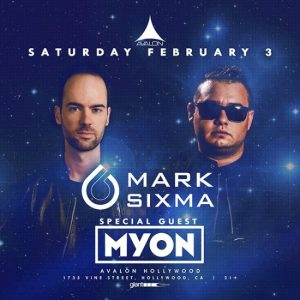 Mark Sixma at Avalon Hollywood - February 3, 2018