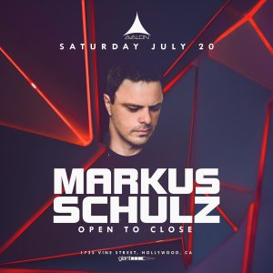 Markus Schulz at Avalon - July 20