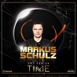 Markus Schulz at Time Nightclub - February 24, 2018