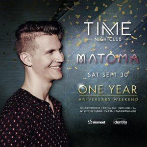 Matoma at Time Nightclub