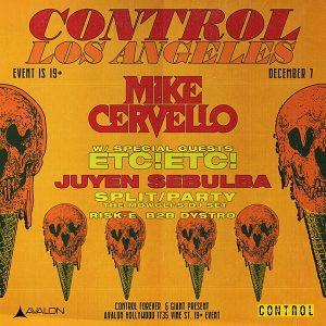 Mike Cervello at Avalon - Dec 7