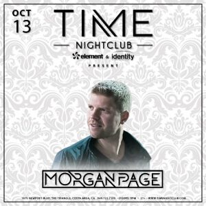 Morgan Page at Time Nightclub