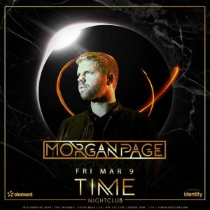 Morgan Page at Time Nightclub - March 9, 2018
