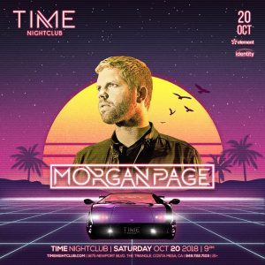Morgan Page at Time - Oct 20, 2018