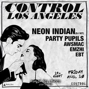 Neon Indians at Avalon - August 10, 2018