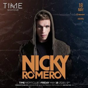 Nicky Romero at Time Nightclub - May 18, 2018
