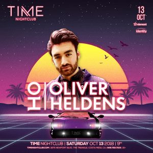 Oliver Heldens at Time OC - October 13, 2018