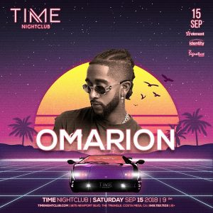 Omarion at Time - Sep 15, 2018