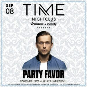 Party Favor at Time Nightclub
