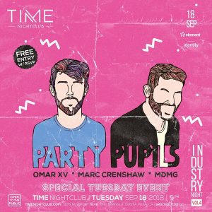 PartyPupils at Time - Sep 18, 2018