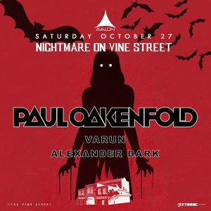 Paul Oakenfold at Avalon - October 27, 2018