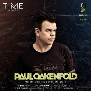 Paul Oakenfold at Time Nightclub - June 1, 2018