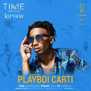 Playboi Carti at Time Nightclub - July 27, 2018