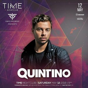 Quintino at Time Nightclub - May 12, 2018
