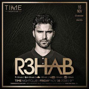 R3hab at Time - Nov 16, 2018