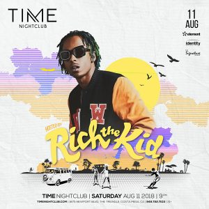 Rich The Kid at Time - August 11, 2018