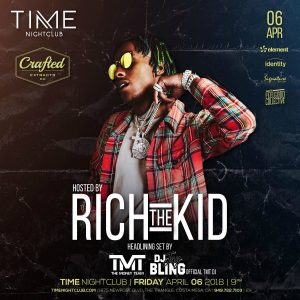 Rich the Kid at Time Nightclub - April 6, 2018