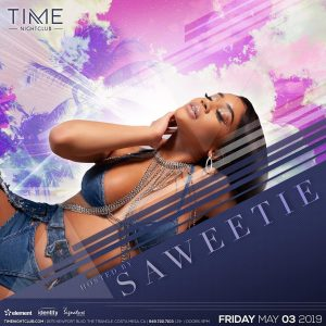 Saweetie at Time on May 3, 2019