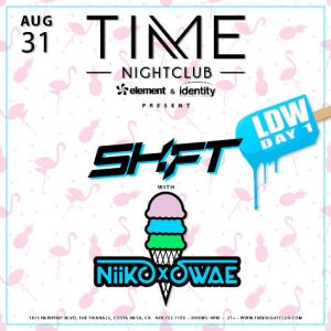 Shift and Nikko at Time Nightclub OC
