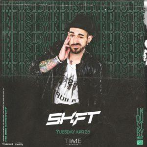 Shift at Time - April 23, 2019