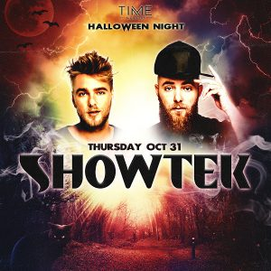 Showtek at Time - Oct 31