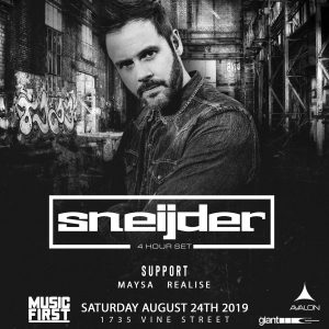 Sneijder at Avalon - Aug 24