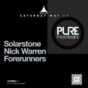 Solarstone, Nick Warren, Forerunners at Avalon - May 11, 2019