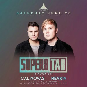 Super8 & Tab at Avalon Hollywood - June 23, 2018