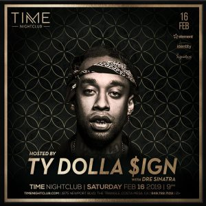 TY Dolla Sign at Time - Feb 14, 2018