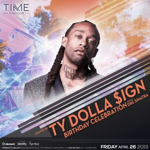 TY Dolla $ign at Time - April 26, 2019