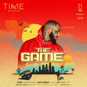 The Game at Time Nightclub - July 21, 2018