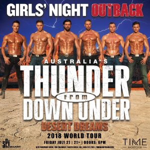 Thunder From Down Under - July 27, 2018