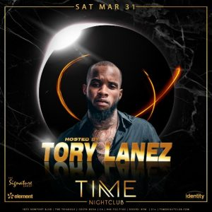 Tory Lanez at Time Nightclub - March 31, 2018