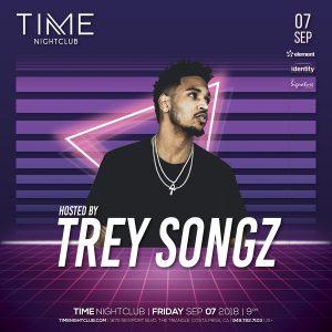 Trey Songz at Time - Sep 7, 2018
