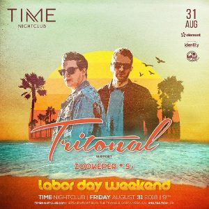 Tritonal at Time - August 31, 2018