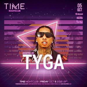Tyga at Time - October 5, 2018