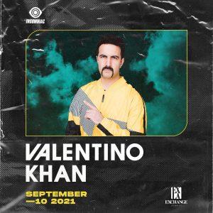 Valentino Khan at Exchange LA - September 10, 2021