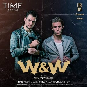 W&W at Time Nightclub - June 8, 2018