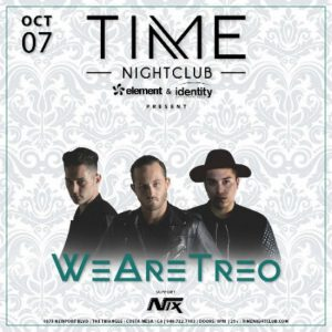 We Are Treo at Time Nightclub