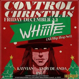 Whiiite at Avalon Hollywood - December 22, 2017