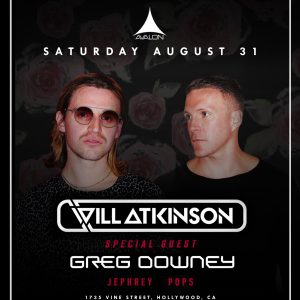 Will Atkinson at Avalon - August 31