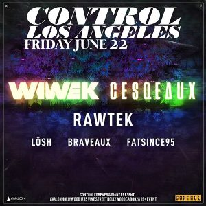 Wiwek at Avalon Hollywood - June 22, 2018