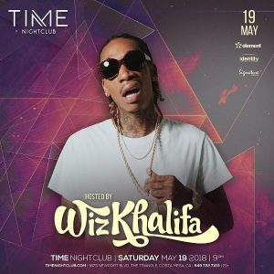 Wiz Khalifa at Time Nightclub - May 19, 2018