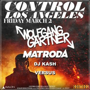 Wolfgang Gartner at Avalon Hollywood