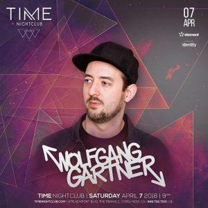 Wolfgang Gartner at Time Nightclub - April 7, 2018