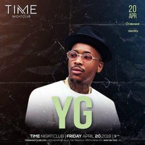 YG at Time Nightclub - April 20, 2018