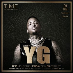 YG at Time - Nov 9, 2018