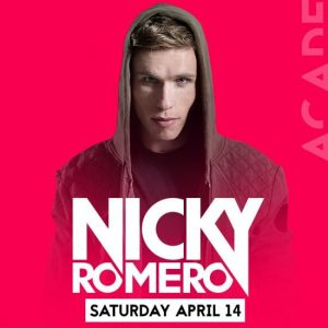 Nicky Romero at Academy LA